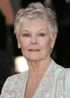 The wonderful actress Judi Dench.