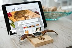 Docking Station Apple Watch Dock iPhone iPad Stand Boyfriend Personalized Men Phone Charging Wood Groomsman Monogram Gift Initials * You can get more details by clicking on the image.Note:It is affiliate link to Amazon.