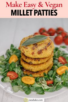 This millet patties recipe is for making quick and easy veggie millet burgers. They are delicious and full of flavours. Your family and kids will love them for a healthier lunch and dinner. #lunch #dinner #recipe #millet Boiled Vegetables, Veggies, How To Cook Millet, Vegan Looks, Delicious Vegan Recipes, Vegan Snacks, Unique Recipes, Vegan Dishes, Lunches And Dinners