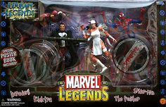 Marvel Legends Urban Legends Gift Pack // Pinned by: Marvelicious Toys - The Marvel Universe Toy & Collectibles Podcast [ m a r v e l i c i o u s t o y s . c o m ]
