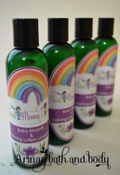 Baby Smooth & Calming Natural Lotion -Lavender www.arinaybathandbody.com