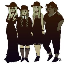 12 Stunning Pieces of 'American Horror Story: Coven' Fan Art