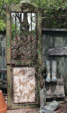 Found it at Wayfair - Secret Garden Door with Mirror Wood Framed Mirror, Metal Mirror, Mirror Door, Garden Mirrors, Garden Doors, Secret Garden Door, Rustic Outdoor Decor, Outdoor Mirror, Farmhouse Style Furniture