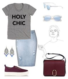 """""""Holy."""" by schenonek ❤ liked on Polyvore featuring Prada, Ally Fashion, Oliver Peoples, Eytys, 3.1 Phillip Lim and 1928"""