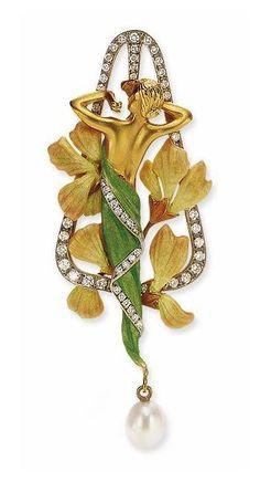 Masriera | Art Nouveau Pendant.