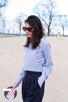 Street style  fashion week parisienne
