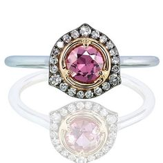 Handmade gifts featuring natural gemstones with individual designs, created with love and sense. #pink #spinel #diamonds #gold #ring #ivy #ivynewyork #handcrafted www.ivynewyork.com