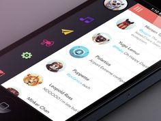 Flat UI Design In Apps