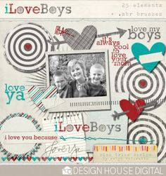 @Brittany Bumpers Allen isn't this so cute?!!  boy scrapbooking