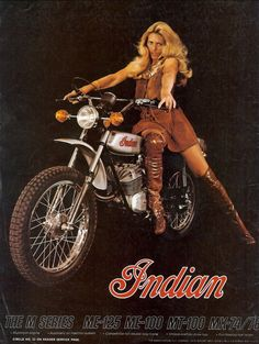 Motorcycle girls vintage