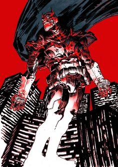 Batman by Artyom Trakhanov
