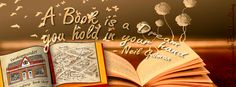 A Book is a Dream you hold in your hand - Book Quote - Swakopmunder Buchhandlung Cover Photo