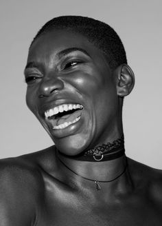 The Power of Black Women — Issa Rae and Michaela Coel for The New Yorker Woman Smile, Woman Face, Photo Portrait, Portrait Photography, Expressions Photography, Issa Rae, Women Laughing, Face Expressions, Black And White Portraits