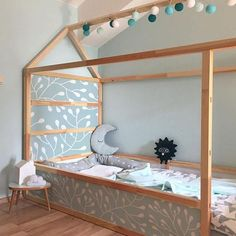 mest up-to-date helt gratis IKEA KURA BED removable stickers branch