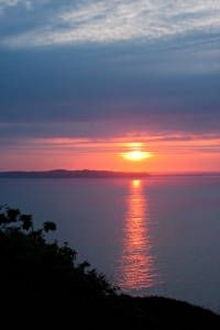 Sunset Seen From Sark