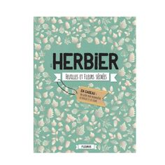 Livre Mon herbier feuilles et fleurs séchées pour enfant de 6 ans à 12 ans - Oxybul éveil et jeux
