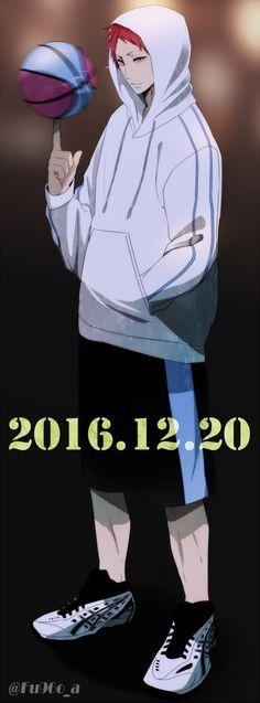 Akashi Seijūrō 赤司 征十郎 | Rakuzan Kōkō | Kuroko no Basket #akashi #knb