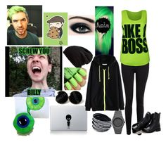 """""""JACKSEPTICEYE!!!!!!"""" by liviahopper-1 on Polyvore featuring Paige Denim, WearAll, CC, Sunsteps and Free People"""