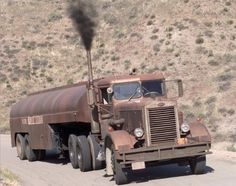 """Peterbilt 281 from the film """"Duel"""""""