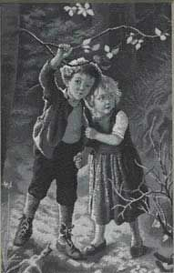 Illustrations of Hansel and Gretel by Wunsch
