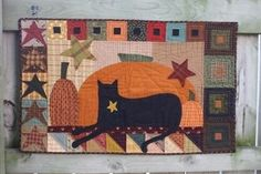 Cat Pattern - Black Cat 20 x 30