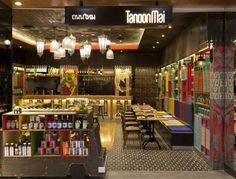 Tanoon Mai Thai Restaurant Interior Design11
