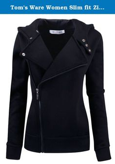 Tom's Ware Women Slim fit Zip-up Hoodie Jacket. This is Fashion hoodie style from Tom's Ware Company. Made by 100% Cotton fabric with soften feeling in side , this style will make you feel soft and confortable when wearing, It is stylish and fashionable with 2 side pockets This slim fit hoodie jacket that is effortlessly stylish and pairable with just about everything, You can make it in different looks by openning the zipper or zip-up half or full. Definitely it will bring you a…