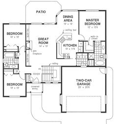 House 768 Blueprint details, floor plans ❤ liked on Polyvore ...