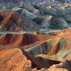 Colorful #mountains in the morning #Landscapes #Nature #Kozzi - Dollar Stock Images - http://kozzi.tv/Vmjyu