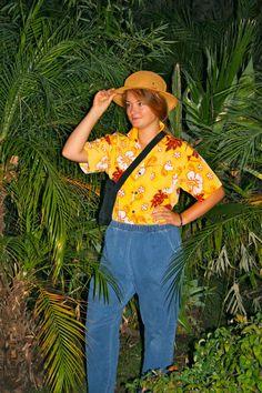 American Tourist costume inspiration! #GoodwillHalloween