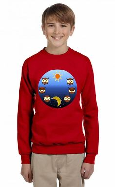 casual day moods Youth Sweatshirt