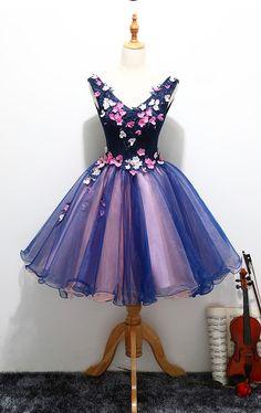 V-neck Homecoming Dresses,Princess Dresses,Cute Dresses,Short Homecoming Dresses,Lace Up Homecoming Dress,Homecoming Dress For Teens,Cocktail Dresses