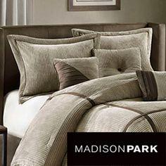 Madison Park Houston 7-Piece Comforter Set. Overstock