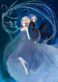 Frozen Elsa x Jack Frost