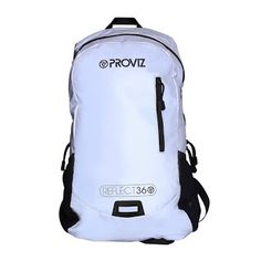 Another clever design from Proviz - a Reflect360 rucksack. With this you can be sure to be seen from many yards away.