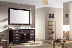 """ARIEL Kensington 61"""" Single Sink Vanity Set"""
