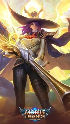 Mobile Wallpaper Android, Android Mobile Games, Mobile Legend Wallpaper, Hero Wallpaper, Bruno Mobile Legends, Miya Mobile Legends, Iphone Wallpaper Landscape, Iphone Wallpaper Vsco, Game Character