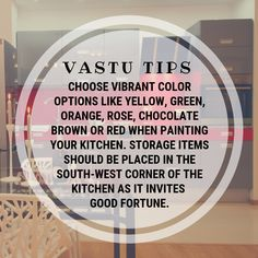 Vastu Shastra Tips for Home from DecorifyLife New Kitchen Cabinets, Kitchen Cabinet Design, Kitchen Layout, Kitchen Flooring, Interior Design Kitchen, Kitchen Backsplash, Room Interior, Feng Shui And Vastu, Feng Shui Tips