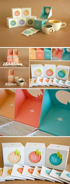 Student Spotlight: Leafy Tea - - Packaging design concept for a hypothetical tea company. Packaging Box, Pretty Packaging, Brand Packaging, Design Packaging, Coffee Packaging, Product Packaging, Custom Packaging, Tee Design, Label Design
