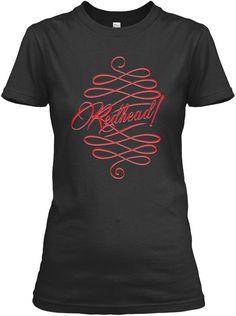 Redhead Days Black Women's T-Shirt Front