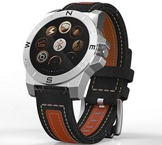 Victor Top @ Men outdoor sports special edition smart watch (silver). Product parameters: * MTK2501 Android support for Apple IOS + * 1.22-inch wide viewing angle circular screen resolution of 240 * 240 * Bluetooth 4.0 Material: Metal + ABS * IP67 waterproof rating can swim with the optical sensing heart rate * / PSG / pedometer / raising his hand to shake bright screen * compass / thermometer / altimeter / barometer * Remote Control Self-timer / find handset / sedentary reminder * Push…