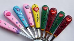 Personalized Name Soup Spoon for Rock and Roll by RadArtaDesign