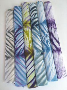 Shibori Fabric, Chevron Stripe Fabric, Gift For Quilter