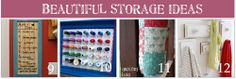 Love #12, display fun door knobs and have a place to hang things (I`m thinking kid coats...)