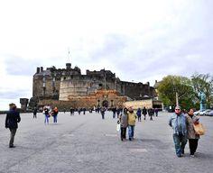 Edinburgh kalesinden başka bir görüntü