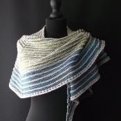 Cascade shawl No:3 - via @Craftsy