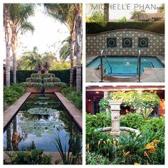 At the @Rancho Valencia in San Diego, CA (click for more photos on @.。Michelle Phan ♔'s blog)