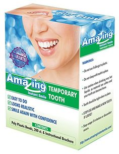 From home dental retainers dentures from home dental tooth amazing temporary missing tooth kit complete replacement tooth repair kit temp dental makeover diy with solutioingenieria Choice Image