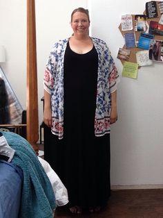 In my July @diaandco box I got this great kimono and dress. Love the kimono, I'm keeping this. :)