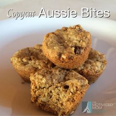 Costco's famous Aussie Bites now in a homemade version!! These are tasty little treats that are quick to throw together! Click on the picture to find the recipe on my Facebook page: www.facebook.com/missywiechmannthemotivatedmom